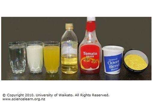 Different Liquids Sciencelearn Hub